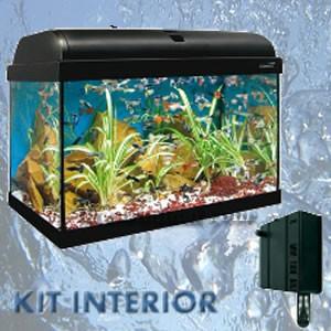 Acuarios 120 litros Kit Interior Aqua-Light