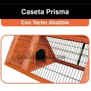 Caseta Prisma para Conejos