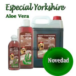 Champu para perros Yorkshire Aloe Vera