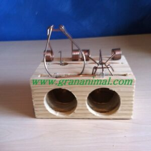 Cepo grande de madera para Ratas