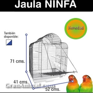 JAULAS PARA NINFAS E INSEPARABLES