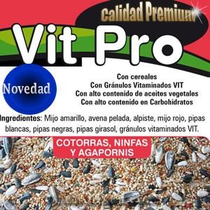 VIT PRO COTORRAS, NINFAS Y AGAPORNIS
