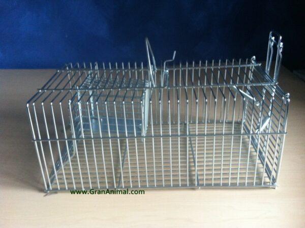 Jaula trampa multicaptura para ratones, trampa para ratas.