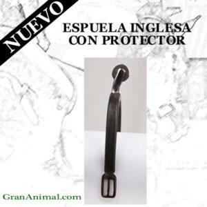 ESPUELA INGLESA C/PROTECTOR GOMA