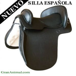 SILLA DE MONTAR ESPAÑOLA NEGRA